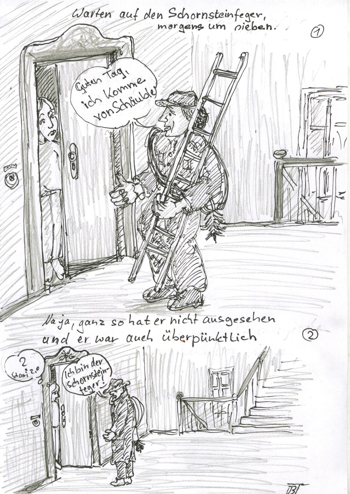 kaminkehrer schornsteinfeger cartoons schornsteinfeger oft nutzlos. Black Bedroom Furniture Sets. Home Design Ideas