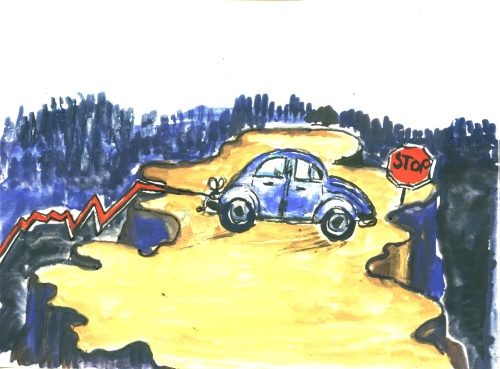 Zum Absturz freigegeben-Bremsen versagt?
