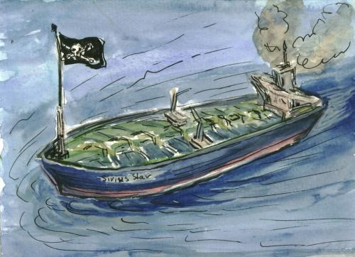 US Kriegsflotte als Begleiter für Tankschiffe