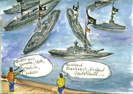 Vereinigt unter der Piratenflagge