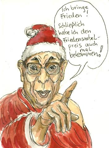 Gaubst du an den Weihnachtsmann?