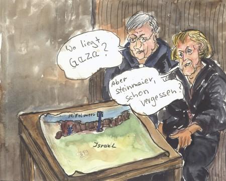 Merkel und Steinmeier-Ignoranz