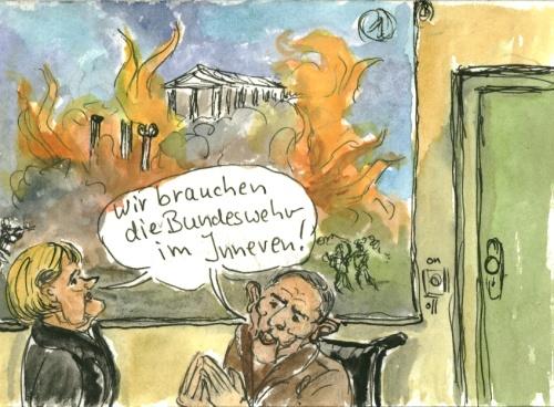Reaktionen auf Krawalle in Griechenland