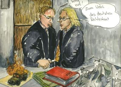 Was Kunst ist, bestimme ich, meinte die Richterin