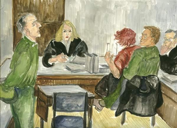 Zeuge-Richterin-Angeklagte-Anwalt