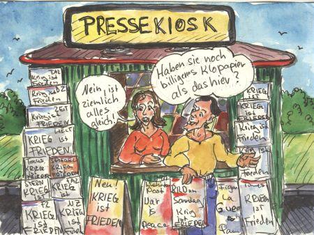 Freier unabhängiger Journalismus? Gibt es nicht