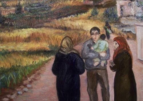 Buffer Zone Ausschnitt- Mother Palestine