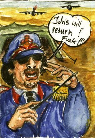 Gaddafi sieht Idris kommen