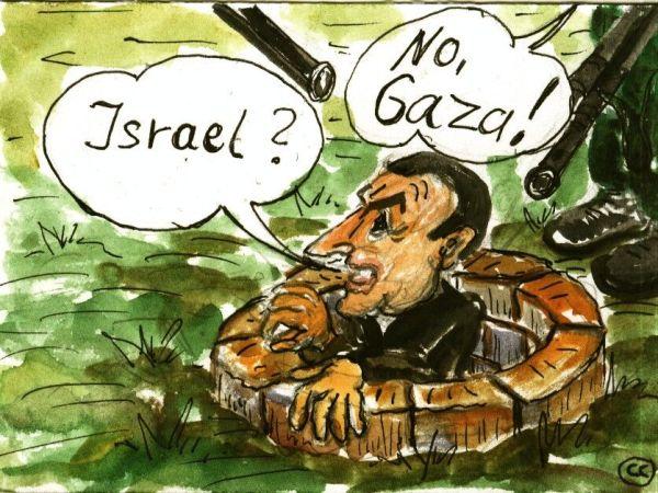 Hosni on his way to Israel