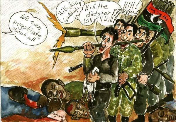 Die friedliche Oppositionsbewegung wird vom Westen und von der USA unterstützt