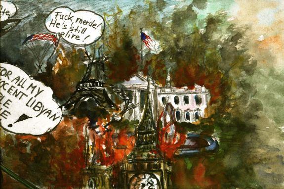 Angst vor Racheakten...Propagando für den bevorstehenden Bodenkrieg