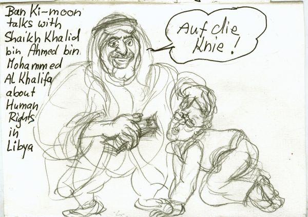 ban -Ki-Moon, jemand der schon längst seine Seele verkauft hat, sollte er jemals eine besessen haben-Der US-amerikanische Seelenverkäufer schlechthin