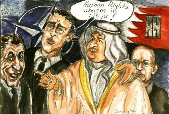 Doha- Menschenrechtler unter sich… » Menschenrechtler verstehen sich