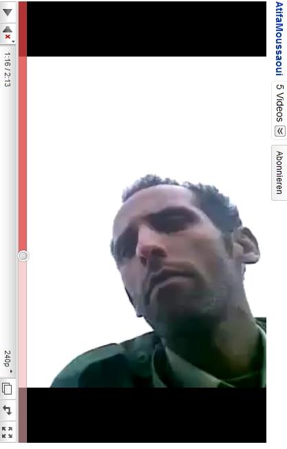 Ein Gaddafi- Soldat?