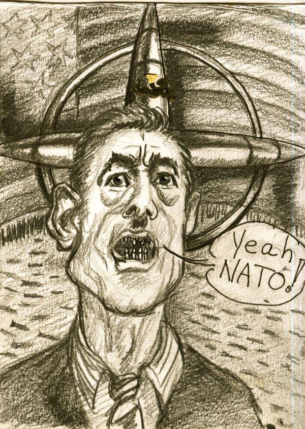 Um jeden Preis- Krieg ist Frieden!!! Deshalb auch keinen Waffenstillstand und keine Verhandlungen mit Gadaffi!