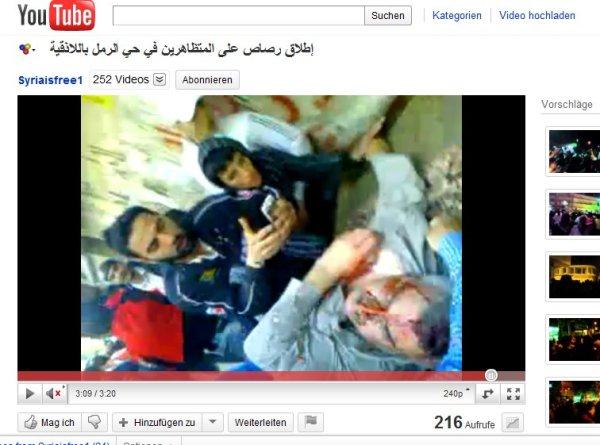 """min 3.09 Das """"Opfer"""" wurde abgelegt und weiterhin intensiv gefilmt"""