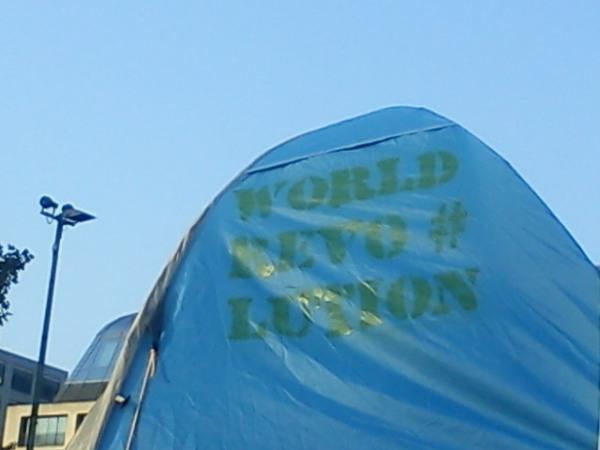 Zelte aufstellen ist verboten