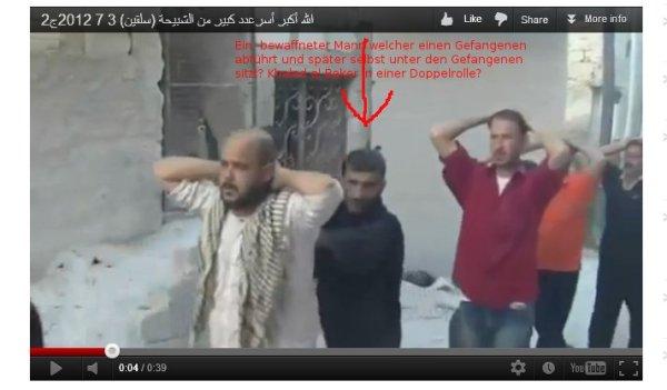 Khaleds Doppelrolle, mal Terrorist, mal Gefangener