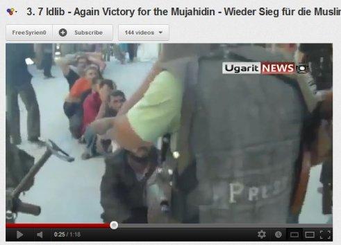 Presse eingebunden bei Entführern und Folteren, auf der Seite von Terroristen und kriminellen Banden