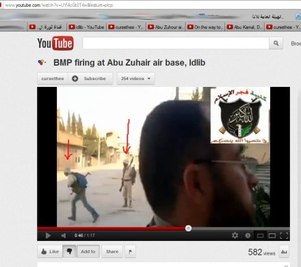 Idlib Flughafenangriff