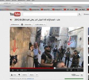 Spezialtruppe Aleppo mit Wehrmachtshut
