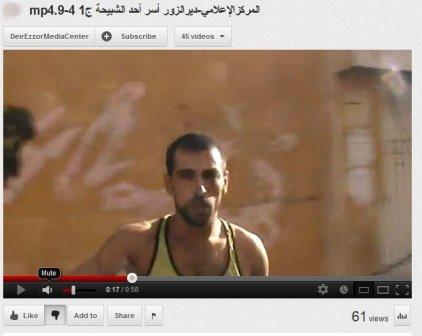 Deir Ezzor- Der gefangene  Soldat mit der Armverletzung ist tot