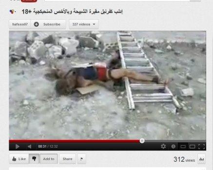 Das selbe Opfer aus dem Youtube-Video