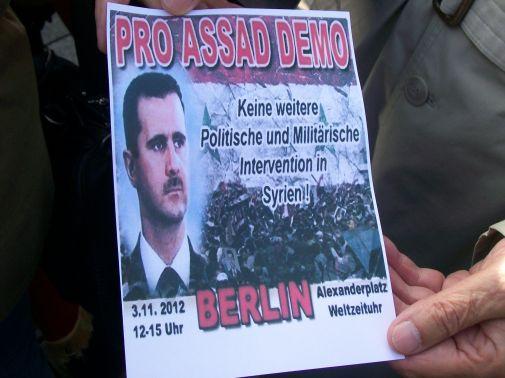 Für Syrien