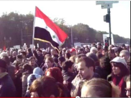 Berlin, Syrien sichtbar gemacht