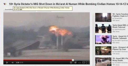 Gelogen, Video aus Libyen