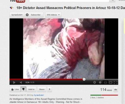 Der Mann mit dem längsgestreiften Kaftan ist nun ermordet worden.