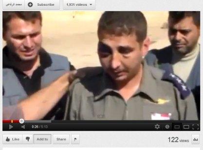 Opfer mit FSA- Folterknechten der salafistischen Tawheed-Brigaden