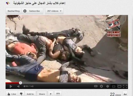 Douma- Menschen exekutiert