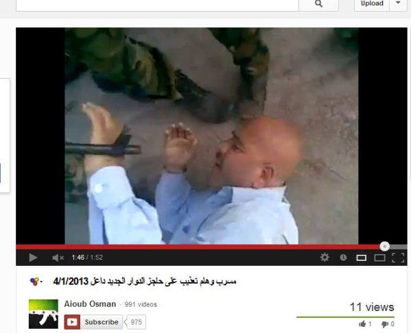 Hilflos ausgeliefert, mißhandelt und bedroht. Die FSA-Kriminellen lachen