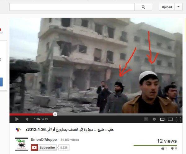 Bestimmt in anderen Propagandavideos zu finden, ein Kommandeur der Terrormilizen