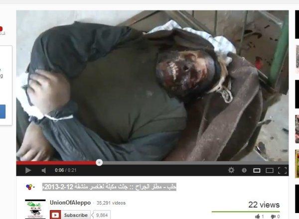 Verstümmelt. Militärgelände Tabqah nach Erstürmung durch FSA und NUSRA-Al-Kaida