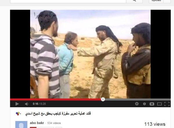 Ein ziviles Opfer von FSA-Nusra-Banden