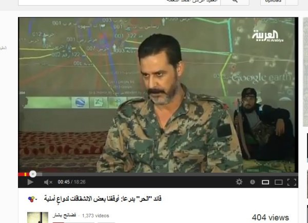 Ein EX-Oberst der syrischen Armee, welcher seine Soldatenkollegen als Schabihas bezeichnet, ist gelinde gesagt ein Dreckschwein.