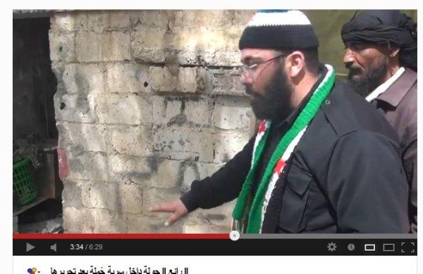 """Zwei der """"Warlords"""" bei Deraa.KRIEGSVERBRECHER"""