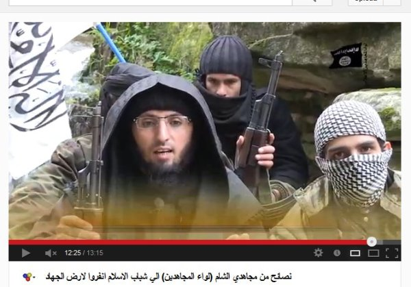 Al-Kaida-Guru mit Lehrlingen