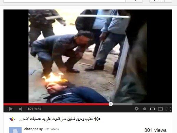 Viele zivil gekleidete FSA-milizionäre und Anhänger grauenhaftester Verbrechen. die Propaganda hat ganze Arbeit geleistet