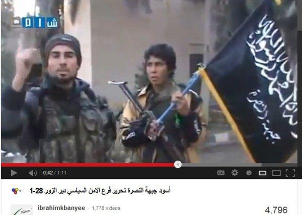 Deir Ezzor FSA-Nusra-Milizen