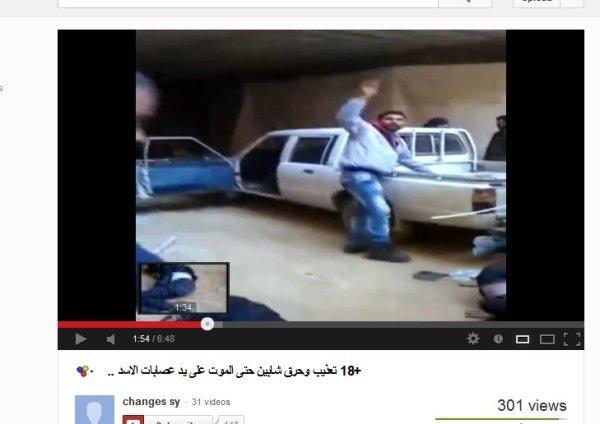 Inszenierung für die Kamera um anschließend die syrische Armee für Verbrechen zu beschuldigen welche diese nicht begangen hat.