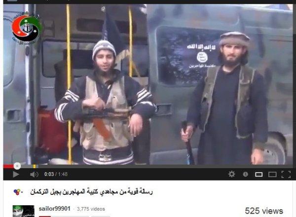 Turkmenische Al-Kaidas, mit Wohnmobile über die Türkei gekommen