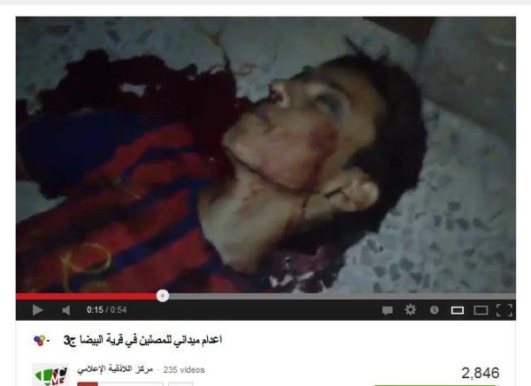 Bayda-terror-Milizen durch Massaker-Arrangements aufgeflogen