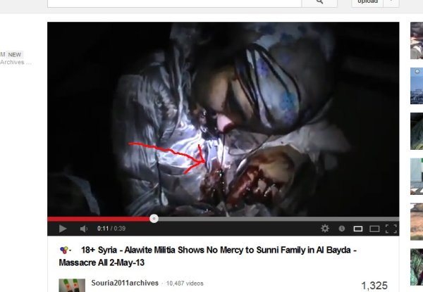 Das Blut läuft aus dem Körper, sie haben die Menschen bei Dunkelheit ermordet!