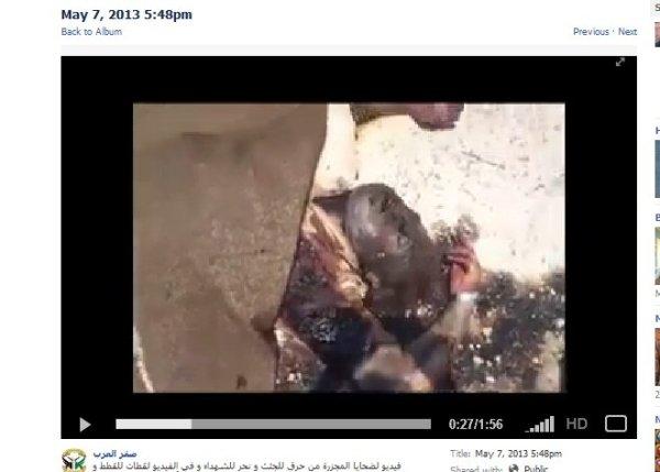 Von wann sind die videos, wurden sie erst viel später gezeigt nachdem die Spuren bereits beseitigt waren?