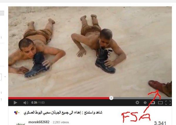 """Warum berichten unsere Medien nicht über die """"Spiele"""" ihrer Freunde in Syrien?"""