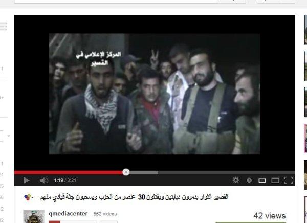 Aljaschmiera unterwegs mit dem Omar al Farouk-Battalion in Qusair