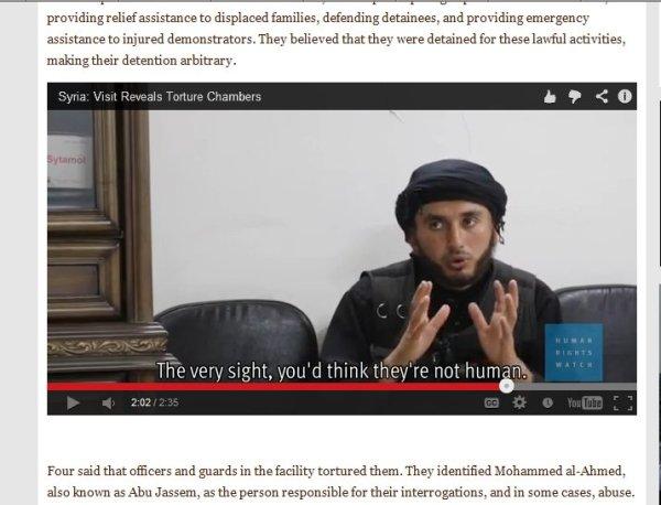 """Gekleidet wie ein """"Al-Kaida"""" weniger wie ein FSA Bandit"""